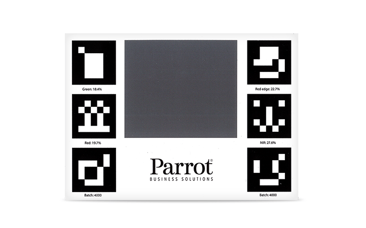 Mire de calibration pour Parrot Sequoia