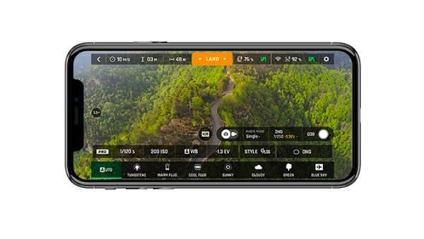 Screenshot de l'application FreeFlight 6