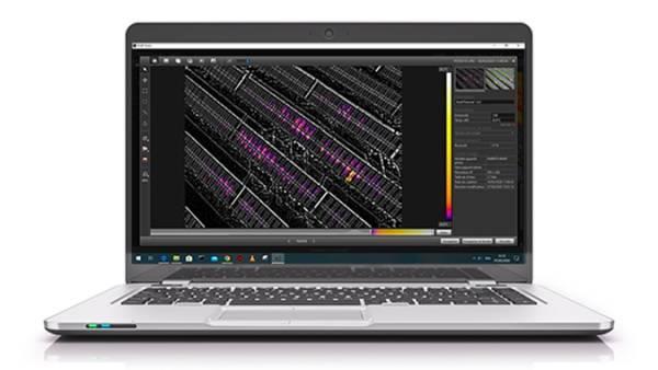 Screenshot de l'application Flir Tools
