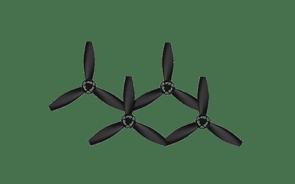 Hélices noires Bebop 2