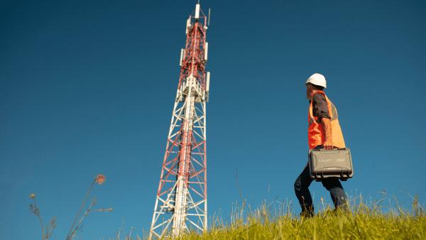Anafi usa power tower inspection