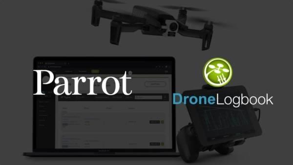 Parrot x DroneLogbook