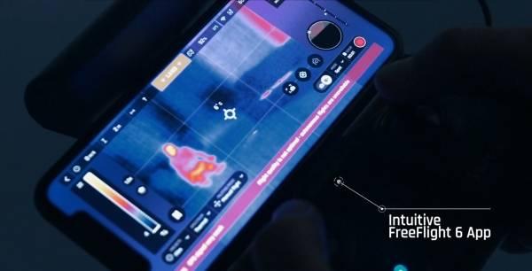 FreeFlight 6 app interface