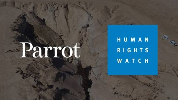 Parrot x Human Rights Watch