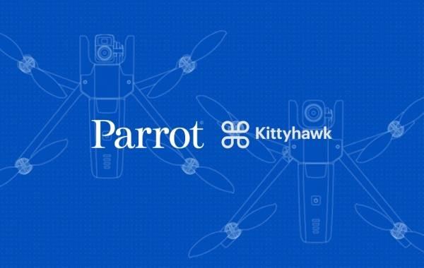 Parrot x Kittyhawk partnership