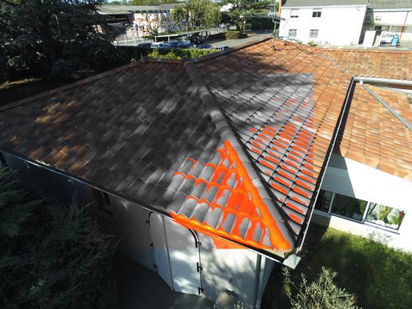 Inspection thermale d'un toit