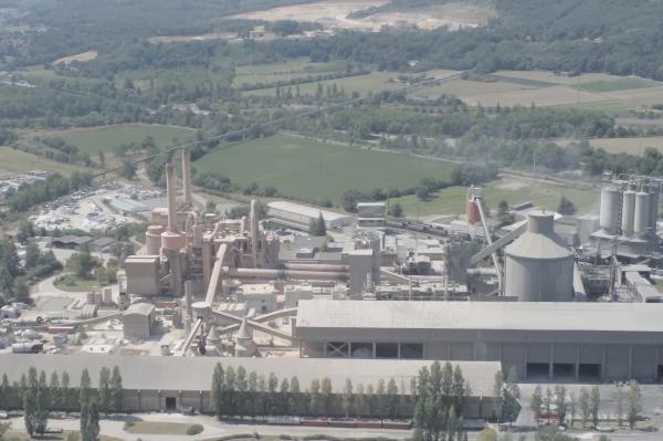 usine vue de haut